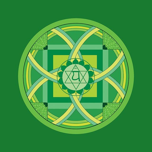Anahata Quarto Chakra Verde